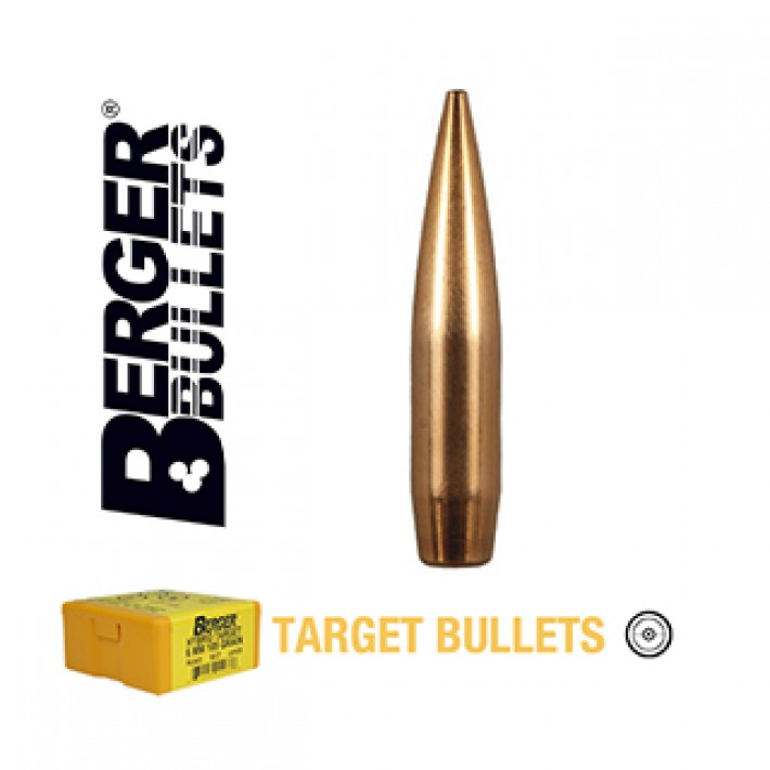 Puntas Berger VLD Target calibre .264 (6.5mm) - 140 grains