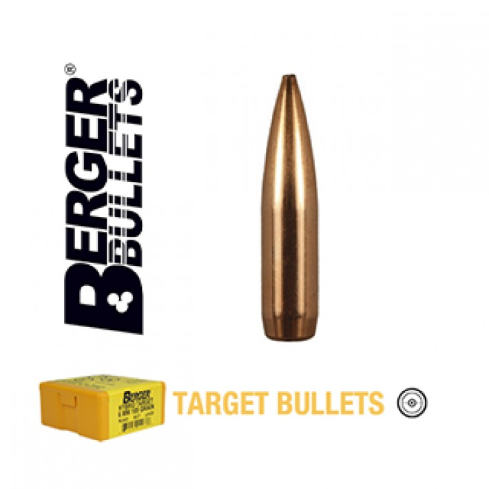 Puntas Berger BT Target calibre .264 (6.5mm) - 120 grains