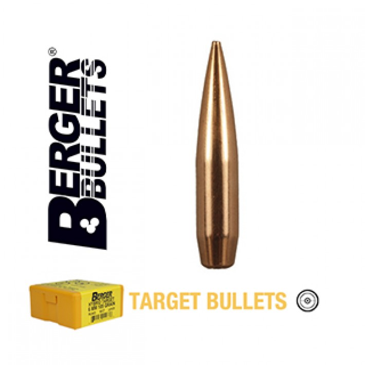 Puntas Berger VLD Target calibre .264 (6.5mm) - 130 grains