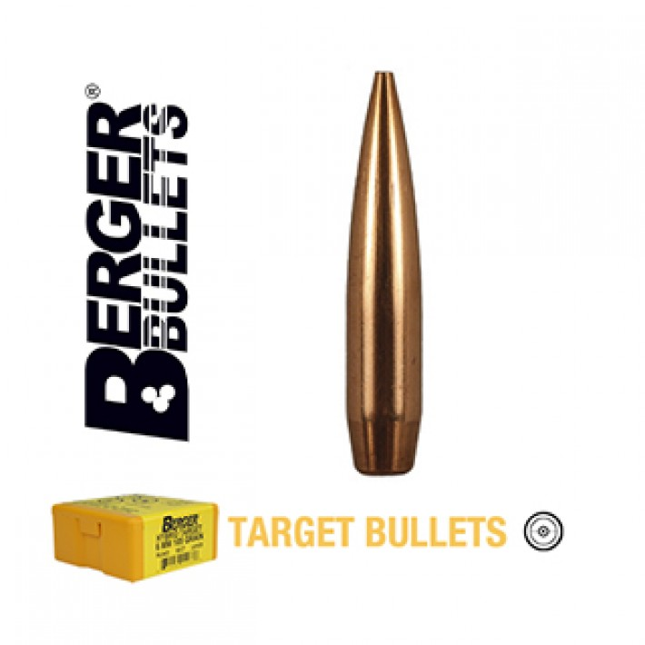 Puntas Berger Long Range BT Target calibre .264 (6.5mm) - 140 grains