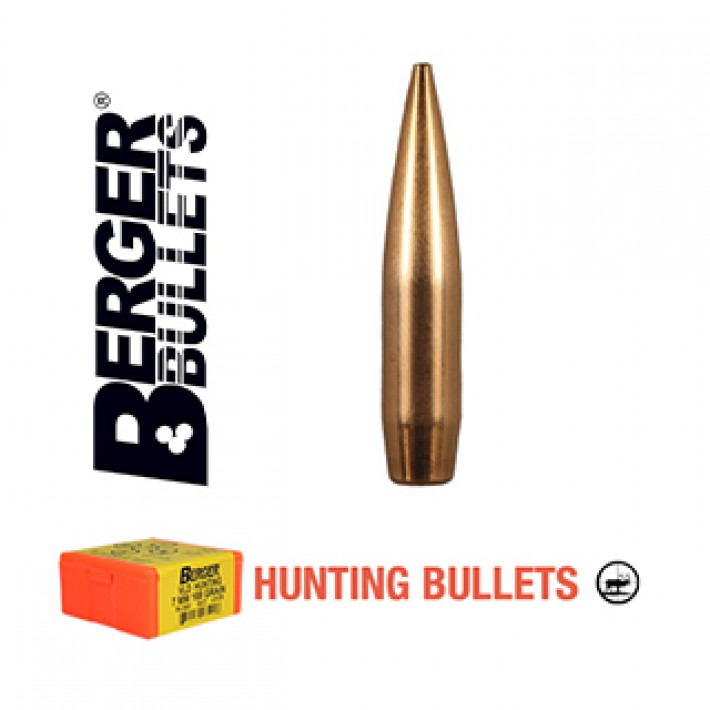 Puntas Berger VLD Hunting calibre .264 (6.5mm) - 140 grains