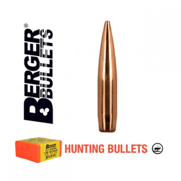 Puntas Berger Elite Hunter calibre .264 (6.5mm) - 140 grains