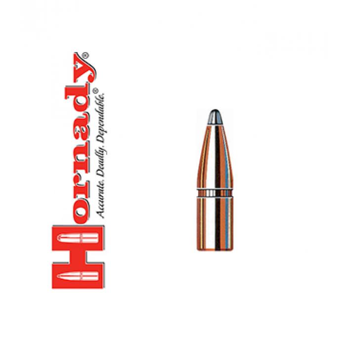 Puntas Hornady Interlock SP calibre .277 (6,8mm) - 130 grains