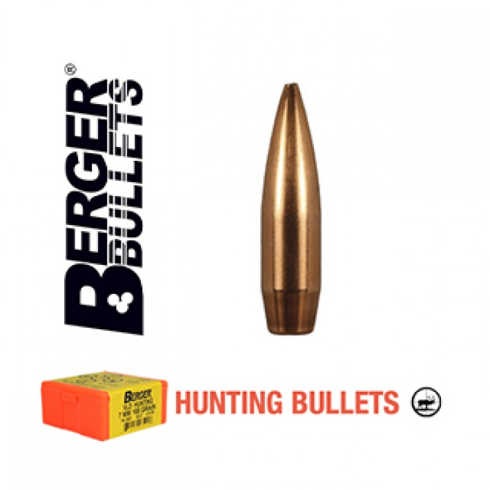 Puntas Berger VLD Hunting calibre .277 (6.8mm) - 130 grains