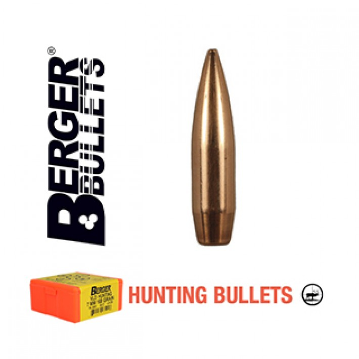 Puntas Berger VLD Hunting calibre .277 (6.8mm) - 140 grains