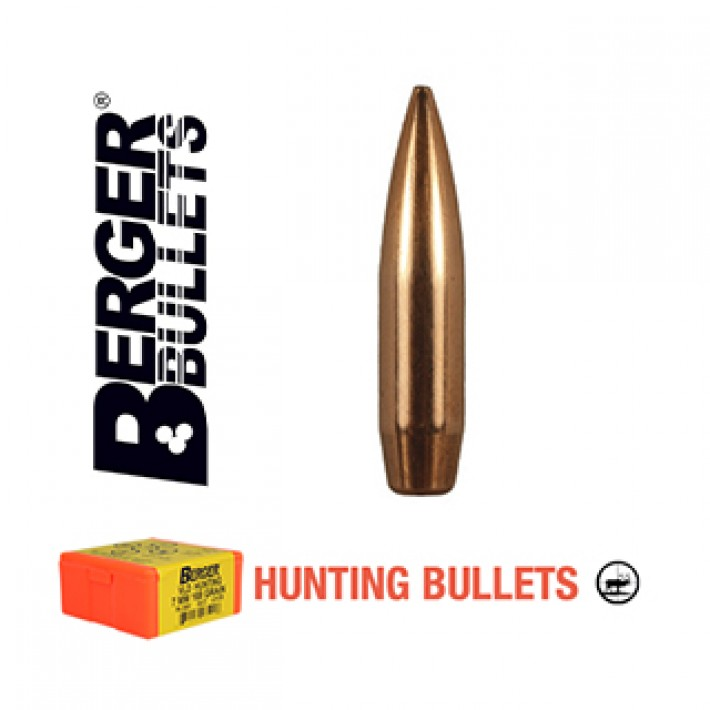 Puntas Berger VLD Hunting calibre .277 (6.8mm) - 150 grains