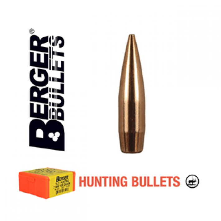 Puntas Berger Classic Hunter Hunting calibre .277 (6.8mm) - 130 grains