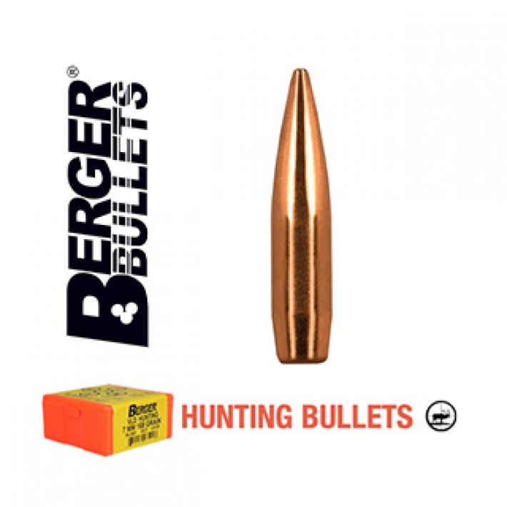 Puntas Berger Classic Hunter calibre .277 (6.8mm) - 140 grains