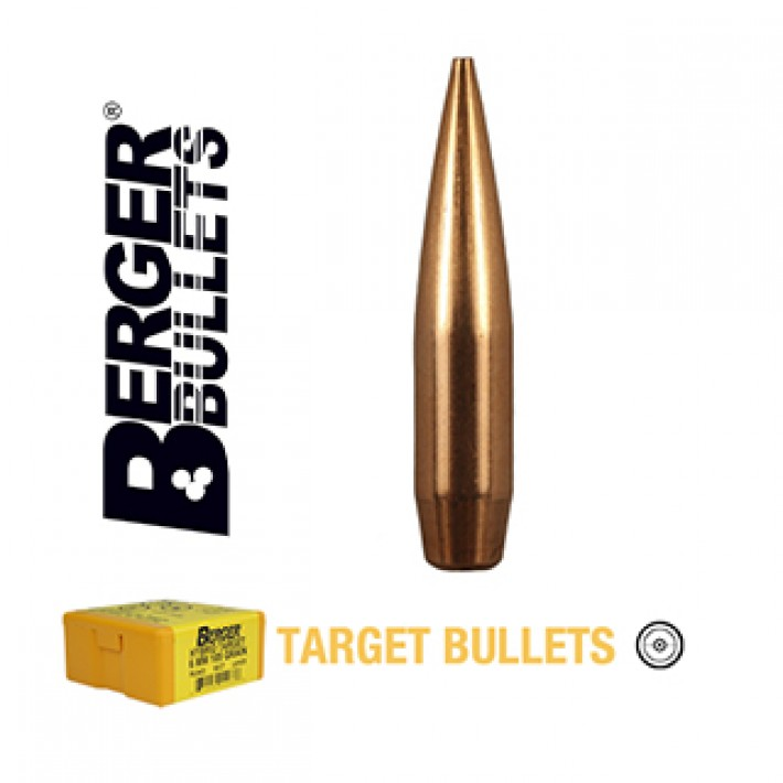 Puntas Berger VLD Target calibre .284 (7mm) - 168 grains