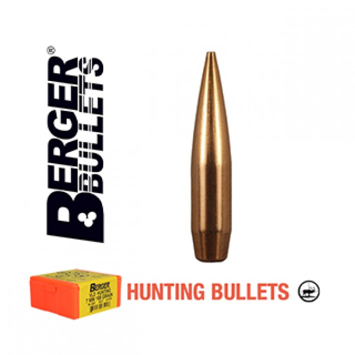 Puntas Berger VLD Hunting calibre .284 (7mm) - 168 grains