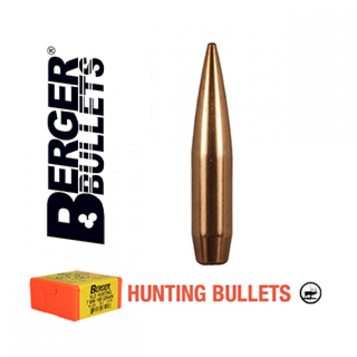 Puntas Berger VLD Hunting calibre .284 (7mm) - 180 grains