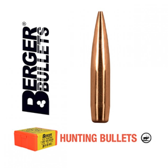 Puntas Berger Elite Hunter calibre .284 (7mm) - 175 grains