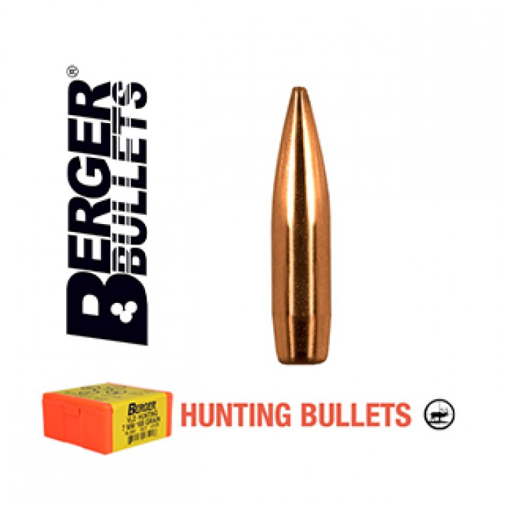 Puntas Berger Classic Hunter calibre .284 (7mm) - 150 grains