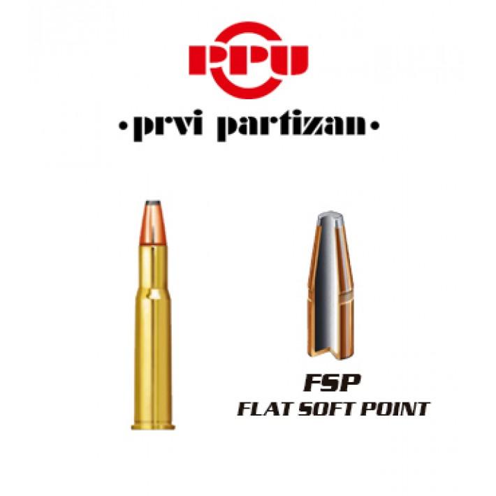 Cartuchos Prvi Partizan .30-30 Winchester 170 grains FSP