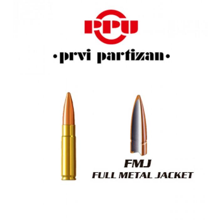 Cartuchos Prvi Partizan .300 AAC Blackout 125 grains FMJ