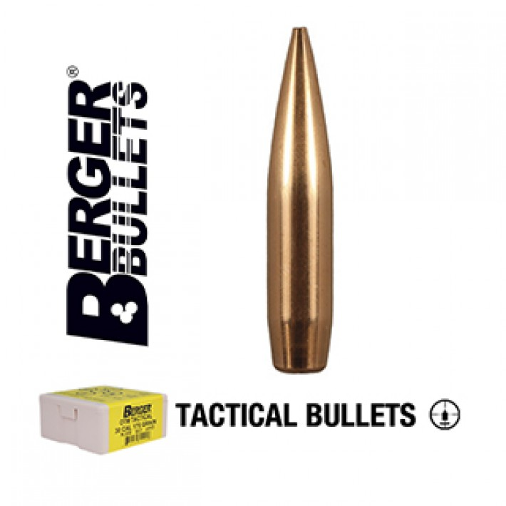 Puntas Berger Hybrid OTM Tactical calibre .308 - 230 grains