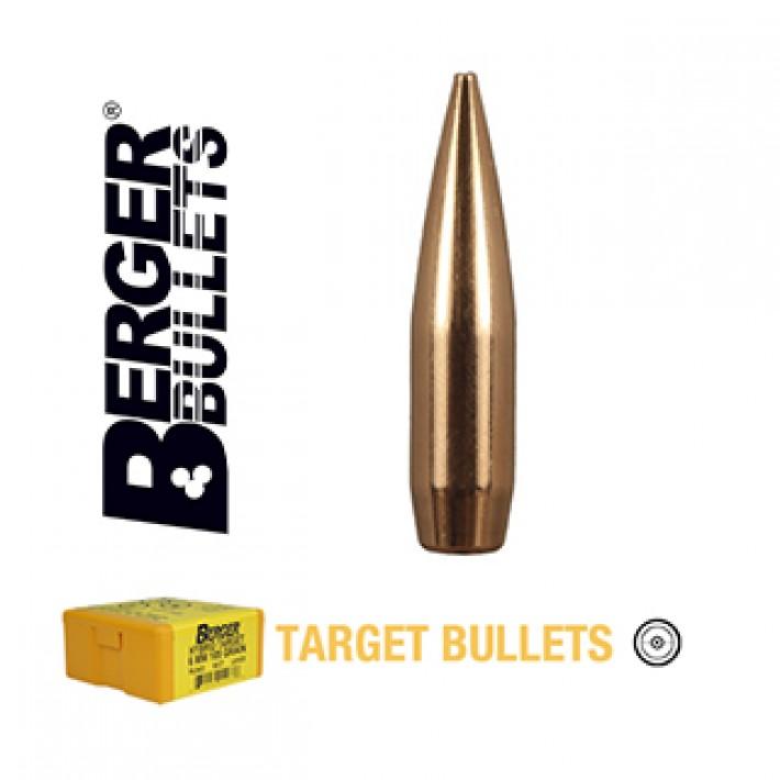 Puntas Berger VLD Target calibre .308 - 185 grains