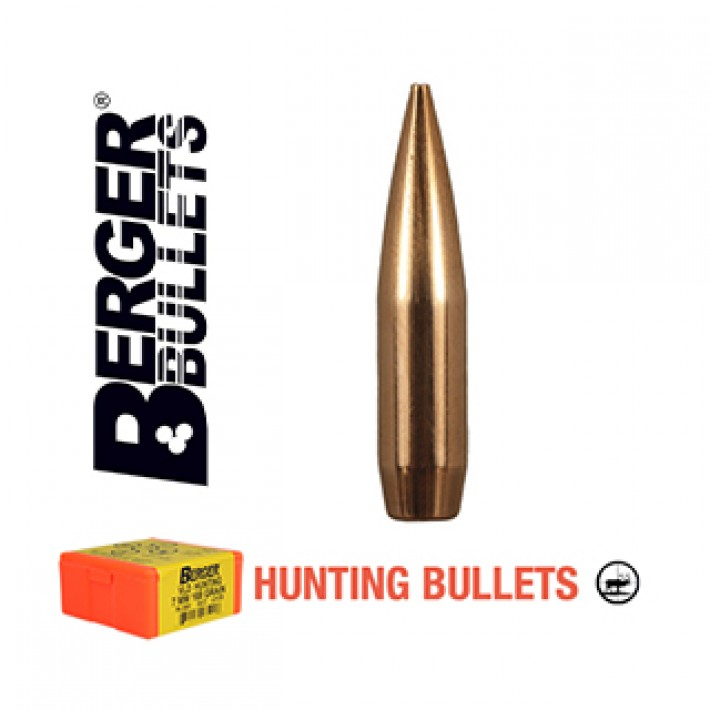 Puntas Berger VLD Hunting calibre .308 - 210 grains