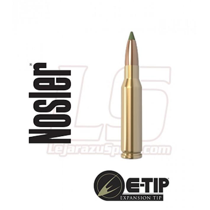 Cartuchos Nosler E-Tip Lead Free 7mm-08 Remington 140 grains E-Tip