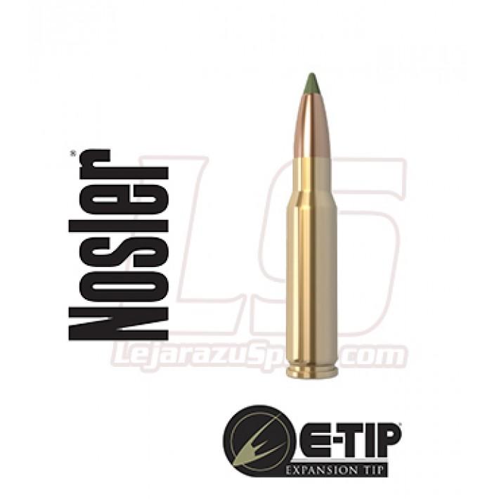 Cartuchos Nosler E-Tip Lead Free .308 Winchester 168 grains E-Tip