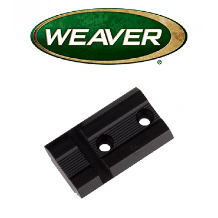 Base Weaver Top Mount de aluminio - 48446