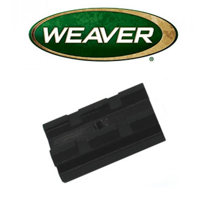 Base Weaver Top Mount de aluminio - 48065