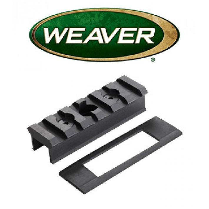 Base Weaver AR15 RMS para portacorrea