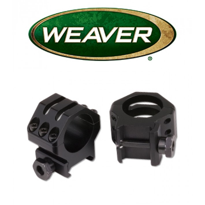 "Anillas Weaver 6 Hole Skeleton de 1"" mate - Altas"