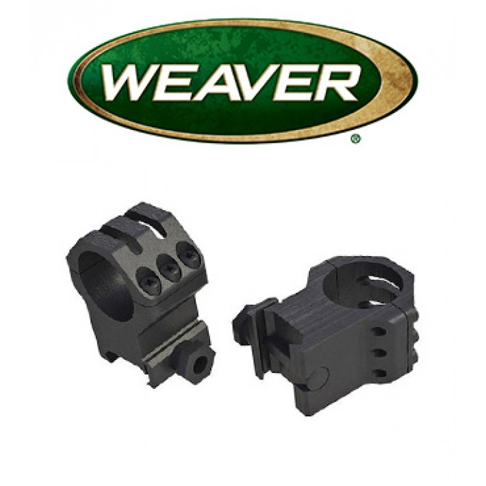 Anillas Weaver 6 Hole Skeleton de 30mm mate - Extra Altas