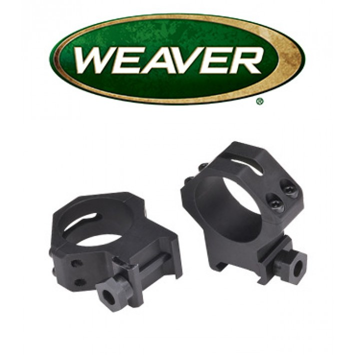 Anillas Weaver 4 Hole Skeleton de 30mm mate - Altas