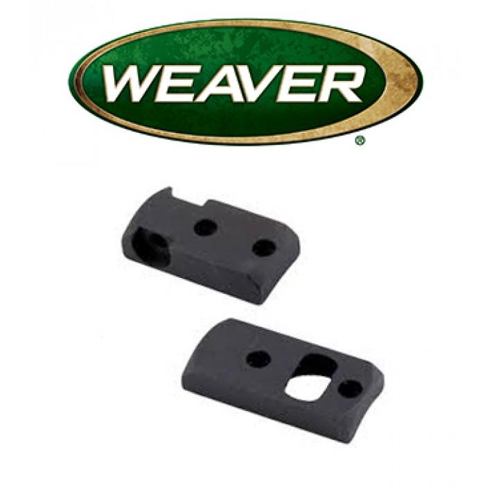 Base Weaver Dovetail de acero mate para Savage 110 LA/SA