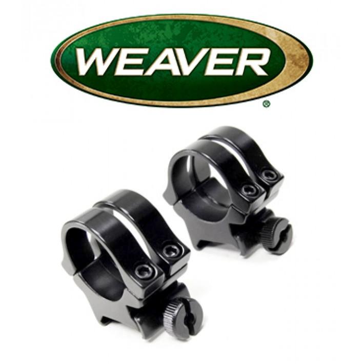 """Anillas desmontables Weaver Quad Lock de 1"""" - Altas"""