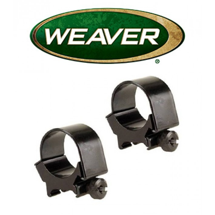 Anillas desmontables Weaver Top Mount de 30mm mate - Altas