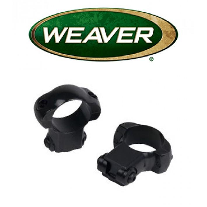 "Monturas Weaver .22 Ruger Style de 1"" mate - Altas"