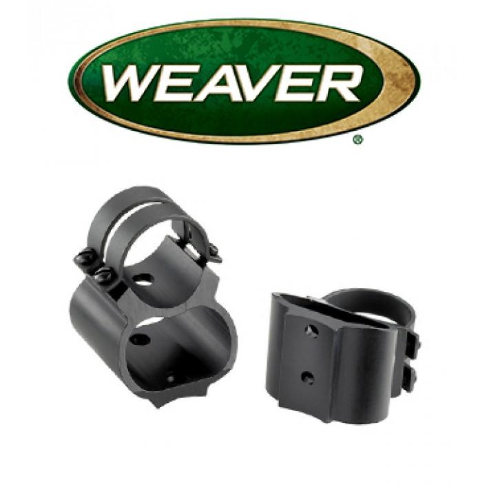 """Montura Weaver See Thru de 1"""" mate para Ruger Mini 14 - Media"""