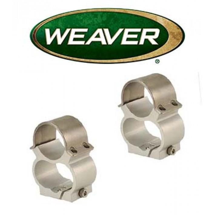 "Montura Weaver See Thru de 1"" cromada para Ruger 10/22 - Media"