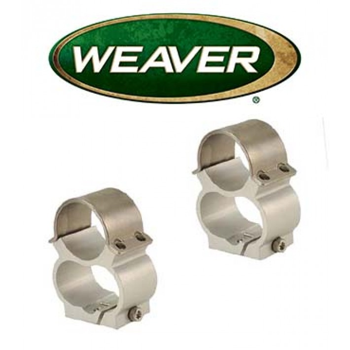 "Montura Weaver See Thru de 1"" cromada para Ruger Mini 14 - Media"