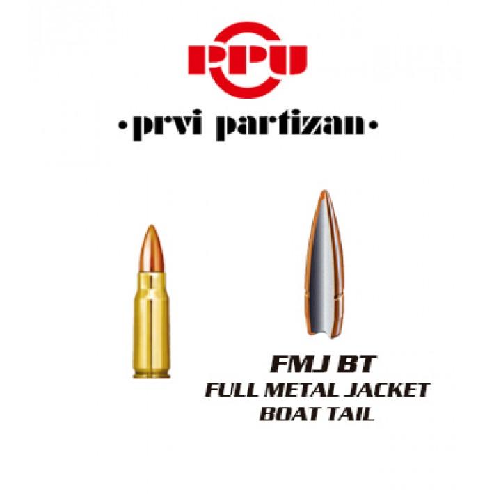 Cartuchos Prvi Partizan 7.92x33 Kurz 124 grains FMJBT