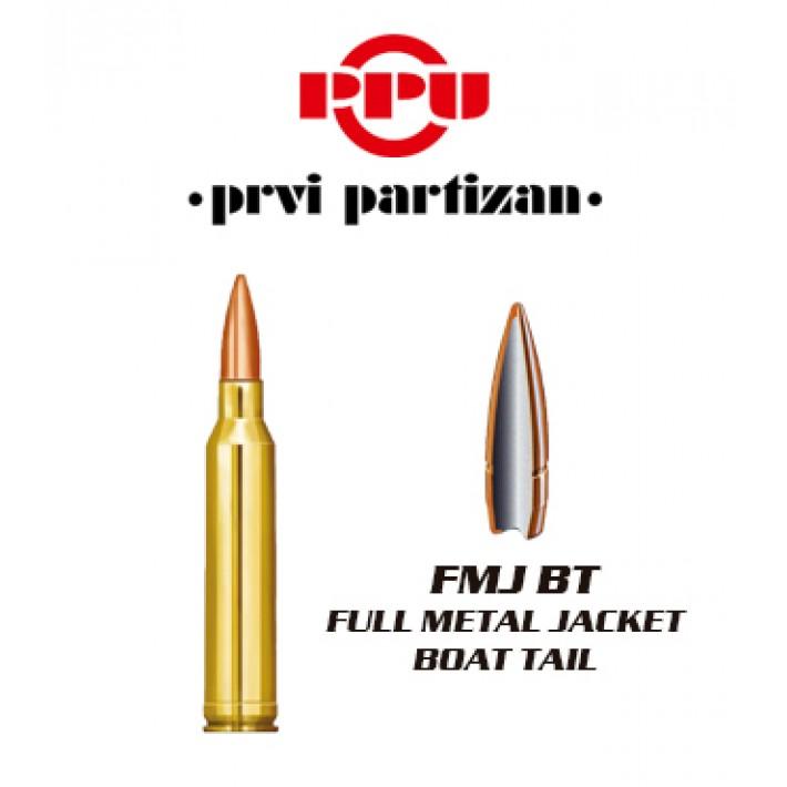 Cartuchos Prvi Partizan 7mm Remington Magnum 175 grains FMJBT