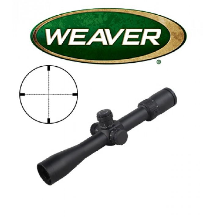 Visor Weaver Tactical 2-10x36 FFP de 30mm con retícula MDR