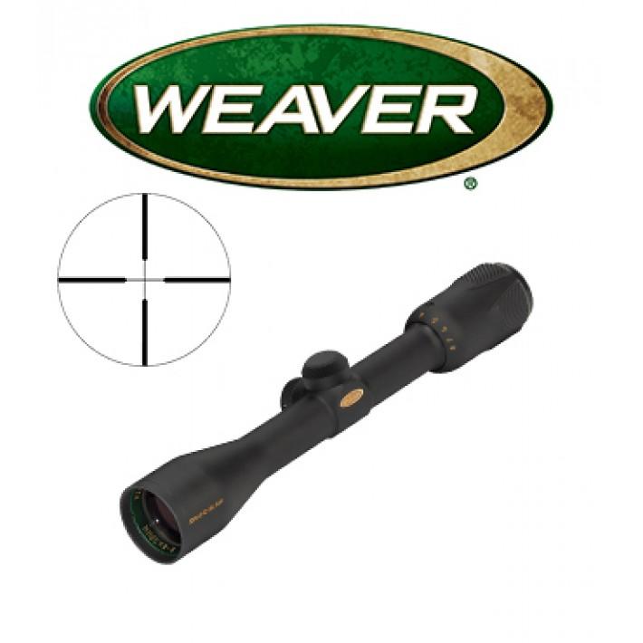 """Visor Weaver Grand Slam 4-16X44 de 1"""" con retícula Dual X"""