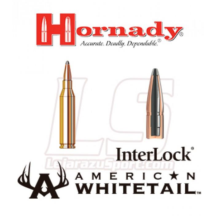 Cartuchos Hornady American Whitetail .243 Winchester 100 grains Interlock AW