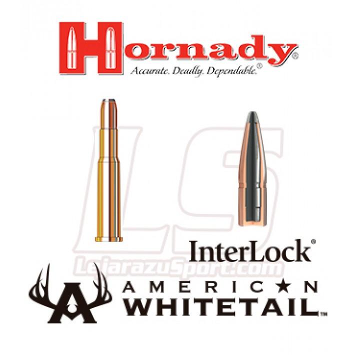 Cartuchos Hornady American Whitetail .30-30 Winchester 150 grains Interlock RN