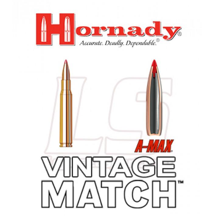 Cartuchos Hornady Match M1 Garand .30-06 Springfield 168 grains A-Max