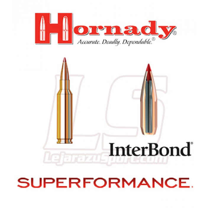 Cartuchos Hornady Superformance 6.5 Creedmoor 129 grains InterBond