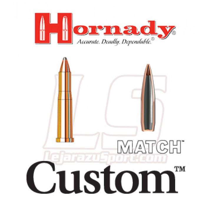 Cartuchos Hornady Custom .22 Hornet 45 grains SP Match