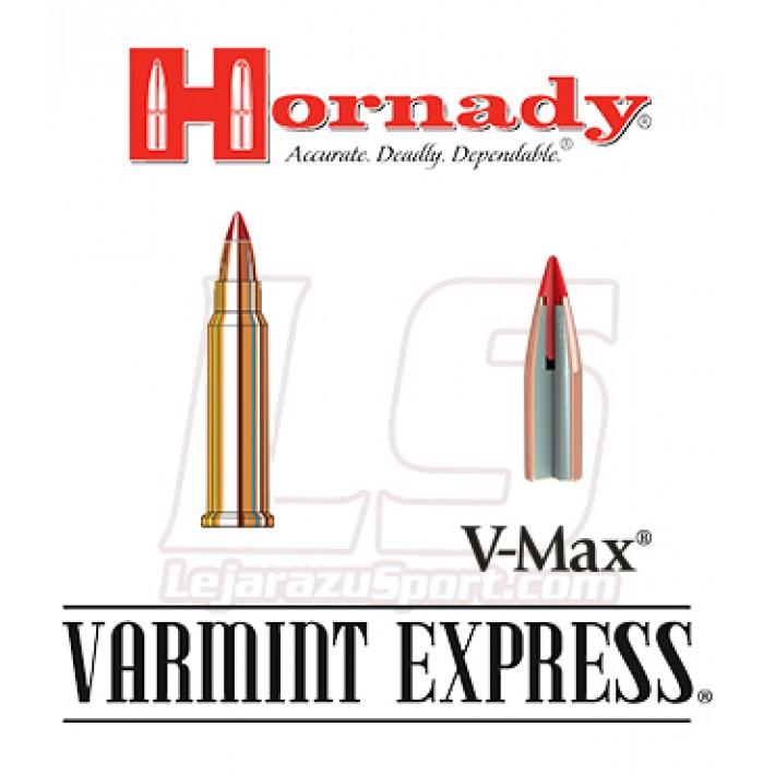 Cartuchos Hornady Varmint Express Rimfire .17 HMR 17 grains V-Max
