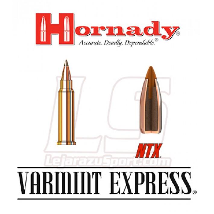 Cartuchos Hornady Varmint Express Rimfire .17 HMR 15.5 grains NTX