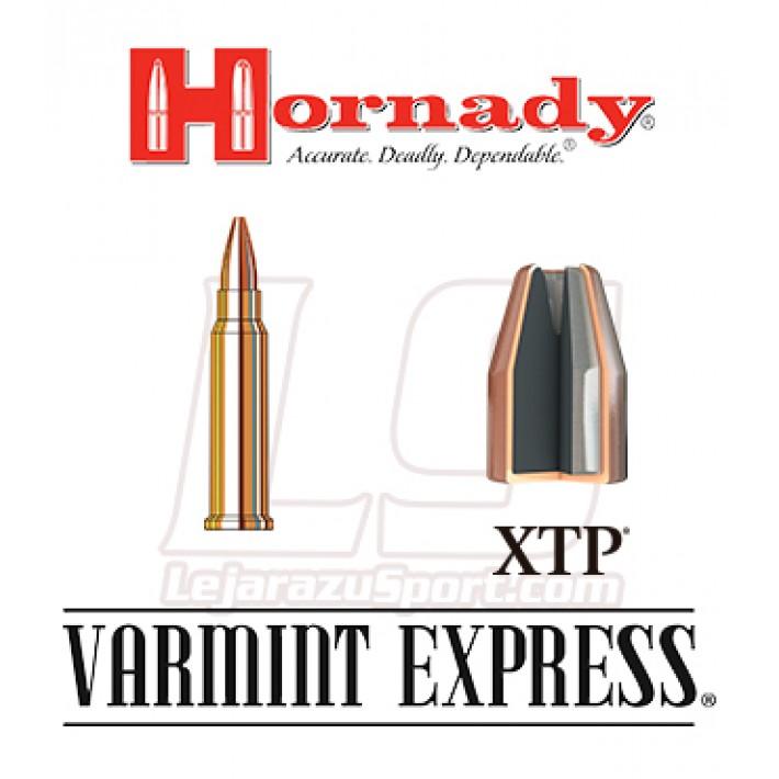 Cartuchos Hornady Varmint Express Rimfire .17 HMR 20 grains XTP