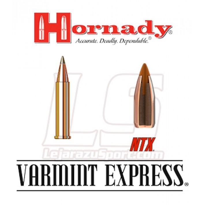 Cartuchos Hornady Varmint Express Rimfire .22 WMR 25 grains NTX